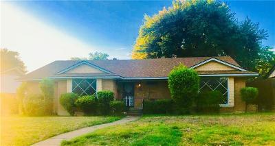 Dallas Single Family Home For Sale: 1807 Matagorda Drive