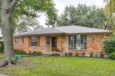 Dallas Single Family Home For Sale: 3107 Dorrington Drive