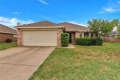 Denton Single Family Home For Sale: 3717 Logan Drive
