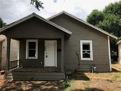 Single Family Home For Sale: 1405 E Wells Avenue