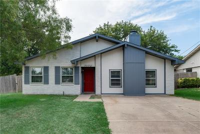 Grand Prairie Single Family Home For Sale: 3502 S Edelweiss Drive
