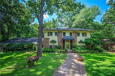 Tyler Single Family Home For Sale: 1921 Miller Drive