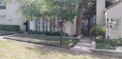 Townhouse For Sale: 6324 Southpoint Drive
