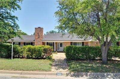 Fort Worth Single Family Home For Sale: 505 Green River Trail