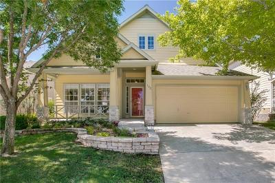 Grapevine Single Family Home Active Option Contract: 302 Silver Oak Drive