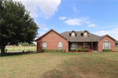 Weatherford Single Family Home For Sale: 1489 Greenwood Cut Off Road