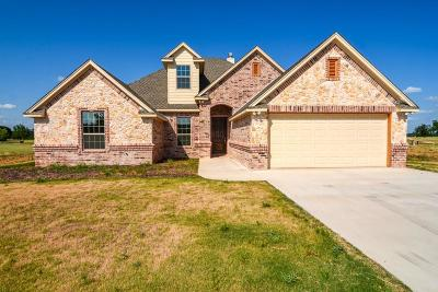 Stephenville Single Family Home Active Option Contract: 152 Crenshaw Court