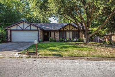 Benbrook Single Family Home Active Option Contract: 1801 High Ridge Road