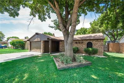 Grand Prairie Single Family Home Active Option Contract: 1010 Fort Scott Trail