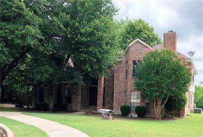 Allen Single Family Home For Sale: 803 Deerlake