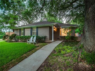Dallas Single Family Home For Sale: 7152 Cornelia Lane