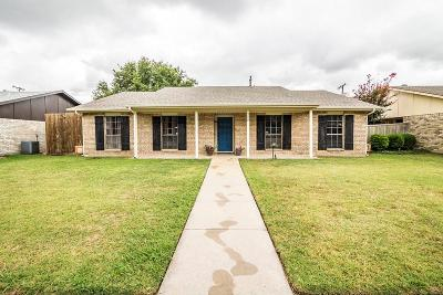 Plano Single Family Home Active Option Contract: 928 Lombardy Drive