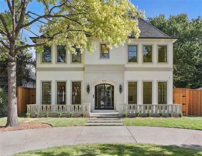 Highland Park TX Single Family Home For Sale: $2,975,000