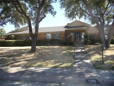 Single Family Home For Sale: 7606 Kevin Drive