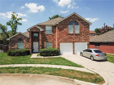 Irving Single Family Home For Sale: 4105 Compton Court