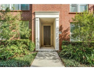 Dallas Condo For Sale: 4411 McKinney Avenue #13