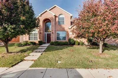 McKinney Single Family Home For Sale: 6200 Pine Meadow Lane