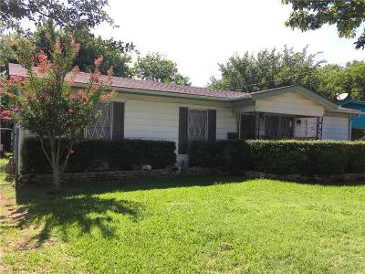 Fort Worth Single Family Home For Sale: 4221 Hardy Street