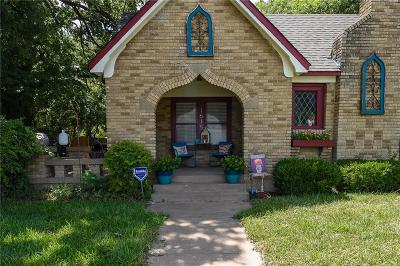 Fort Worth Single Family Home For Sale: 1615 N Sylvania Avenue