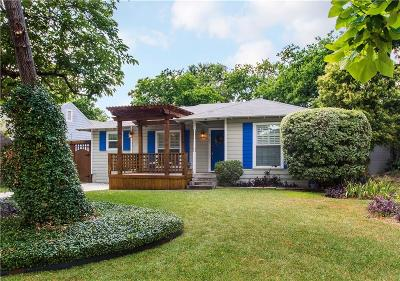 Dallas Single Family Home For Sale: 8703 Angora