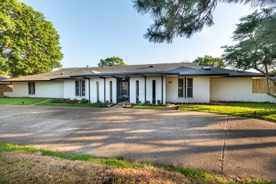 Dallas Single Family Home For Sale: 4335 Shady Bend Drive