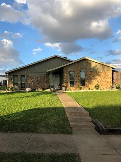 Carrollton Single Family Home For Sale: 3704 Fairfield Drive