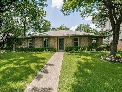 Dallas Single Family Home For Sale: 9068 Fairglen Drive
