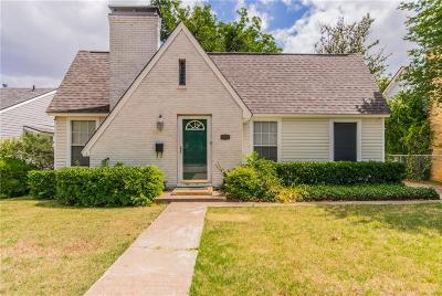 Fort Worth Single Family Home For Sale: 3835 El Campo Avenue