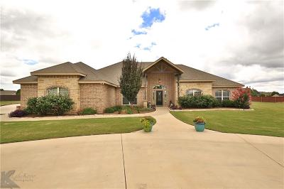 Abilene Single Family Home For Sale: 133 Peach Blossom Drive