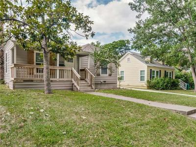 Fort Worth Single Family Home For Sale: 4116 Curzon Avenue