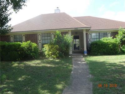 Rowlett Single Family Home For Sale: 2322 University Drive