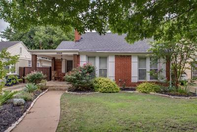 Fort Worth Single Family Home For Sale: 3248 Greene Avenue
