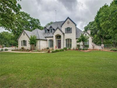 Fort Worth Single Family Home Active Contingent: 387 Cattlebaron Parc Drive