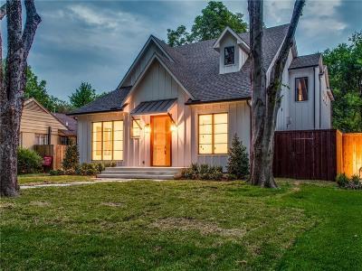 Dallas Single Family Home For Sale: 5320 Emerson Avenue