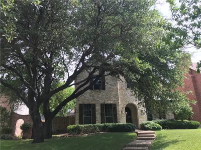 Dallas Single Family Home For Sale: 6827 Coronado Avenue