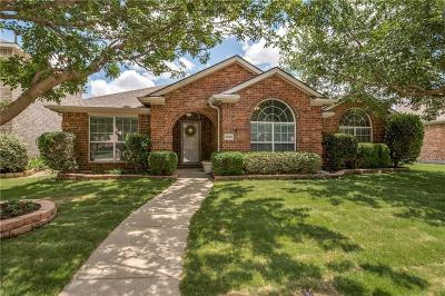 McKinney Single Family Home Active Option Contract: 5505 Periwinkle Lane