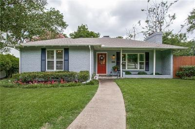 Dallas Single Family Home For Sale: 6402 Vanderbilt Avenue
