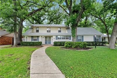 Fort Worth Residential Lease For Lease: 3200 Sweetbriar Lane