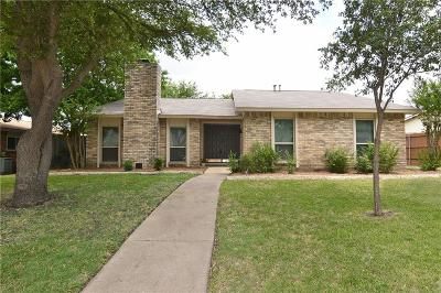 Plano Single Family Home Active Option Contract: 6403 Apache Court