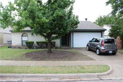 Allen Single Family Home Active Option Contract: 518 Hightrail Drive