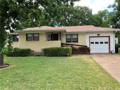 Irving Single Family Home Active Option Contract: 1211 Mitchell Road