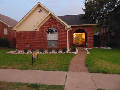 Coppell Single Family Home For Sale: 629 Raintree Circle