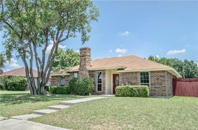 Coppell Single Family Home Active Option Contract: 328 Pinyon Lane