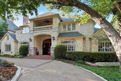 Dallas Single Family Home For Sale: 6815 Meadow Road