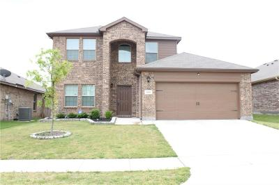 Azle Single Family Home For Sale: 609 River Rock Drive