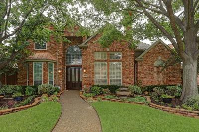 Plano Single Family Home Active Option Contract: 5629 Hillsborough Drive