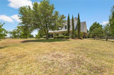 Azle Single Family Home For Sale: 3109 English Creek Drive