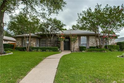 Plano Single Family Home Active Option Contract: 3804 Silverstone Drive