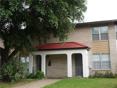 Garland Townhouse For Sale: 2818 Patricia Lane