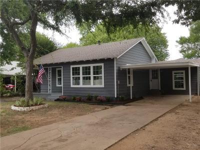 River Oaks Single Family Home For Sale: 613 Harrisdale Avenue